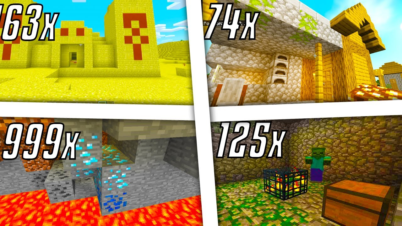 Minecraft Bedrock Edition - The Best Seed Ever 11 [Not Clickbait] Seeds  Xbox One/MCPE/PS11/Switch