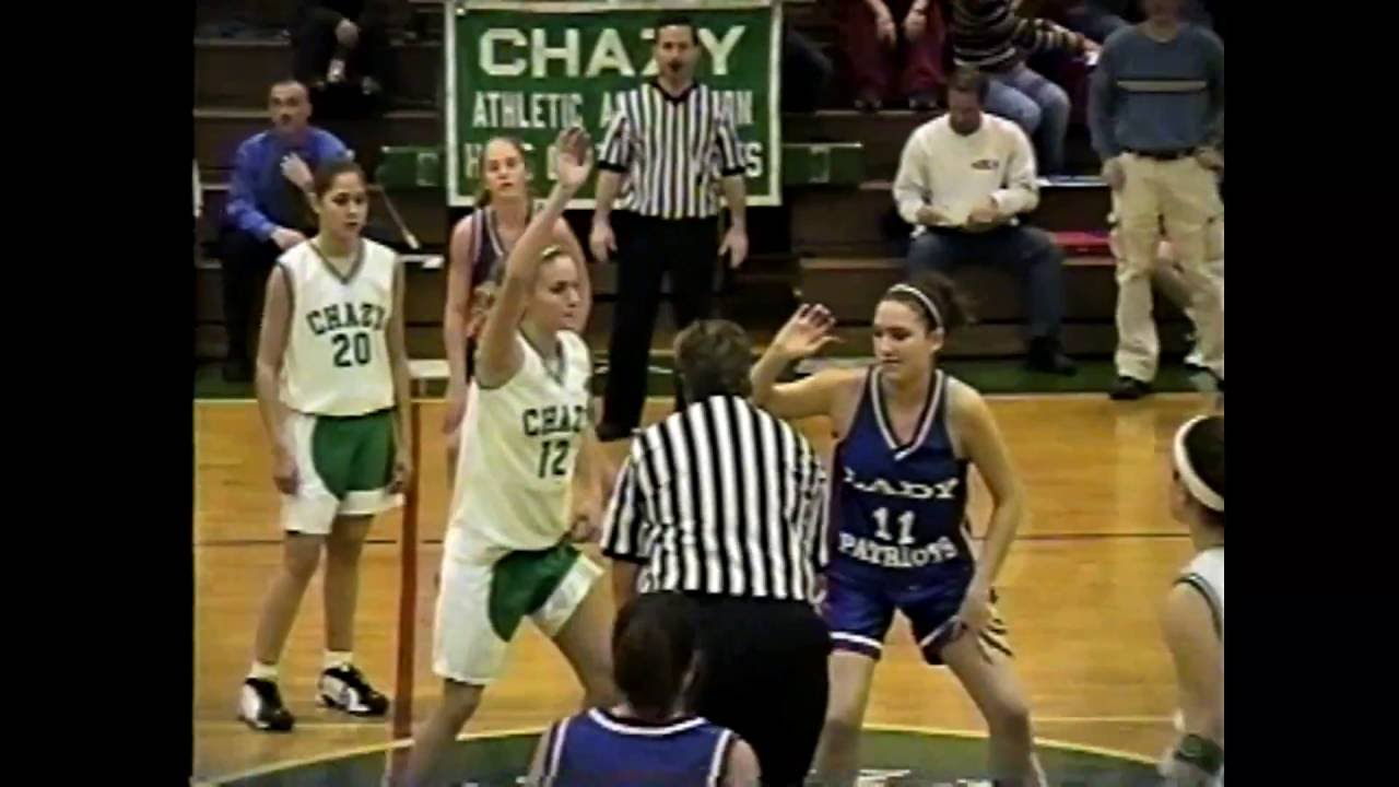 Chazy - AuSable Valley JV Girls  12-30-02