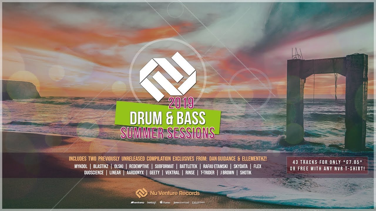 Drum & Bass: Summer Sessions 2019 [43 Tracks *£7 85* or FREE