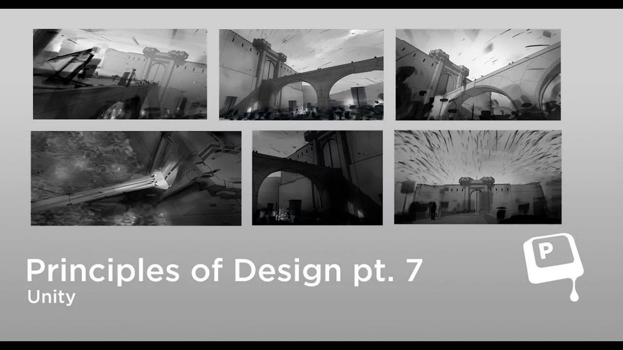 Basic Design Principles In Art : Principles of design unity ctrlpaint.com youtube