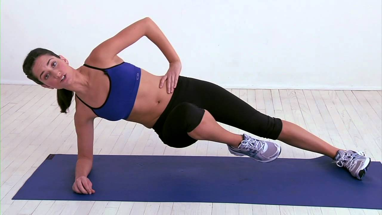 Image result for Side Plank Knee-Tuck