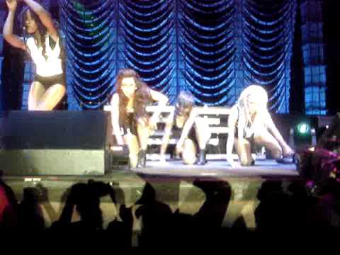 Danity Kane Bad Girl & Striptease Live In San Diego front row center