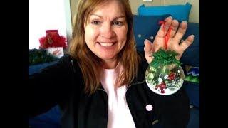 DIY Dollar Tree Holiday Ornaments