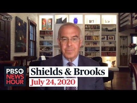 Shields and Brooks on Democrats' Senate momentum, John Lewis' legacy