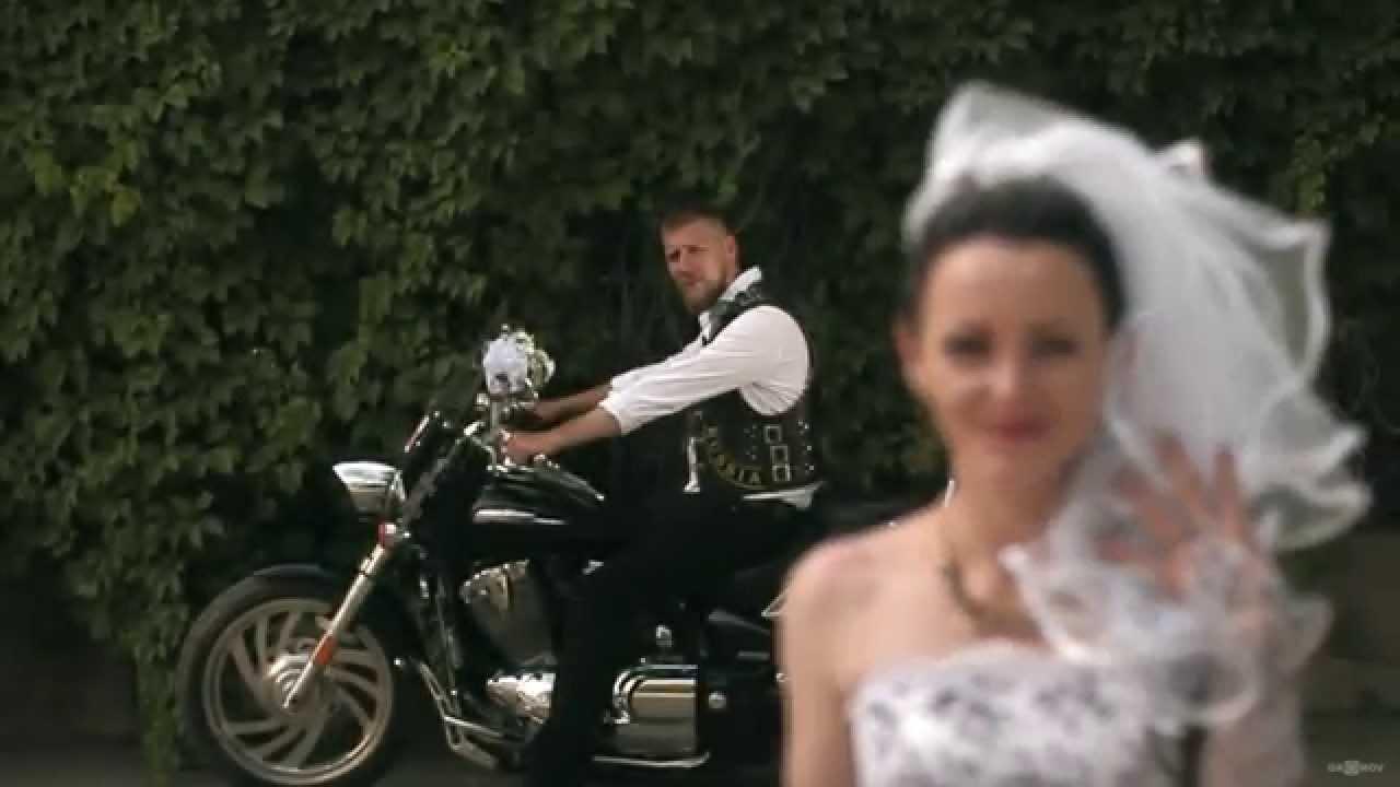 Байкерская свадьба фото