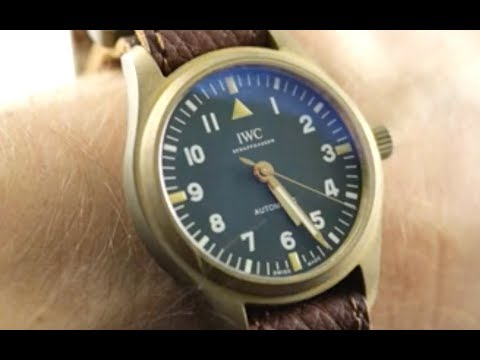 IWC Pilots Watch For The Rake and Revolution Magazine 3240-19 IWC Watch Review
