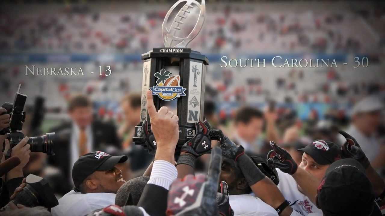 South Carolina Gamecocks - Capital One Bowl (Won Anyway ...