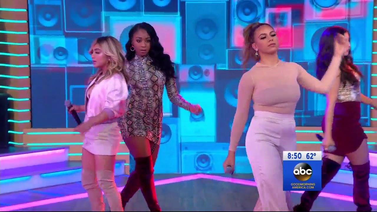 Fifth Harmony He Like That Live
