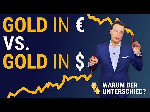 Der GOLDPREIS STEIGT In Dollar Aber Fällt In Euro? ⚖
