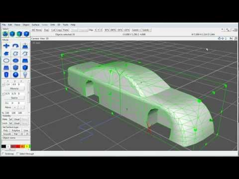 Car Modeling Tutorial - The 3D Model - Part 1 of 5