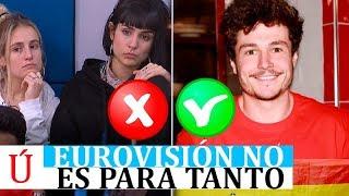 Eurovisión no fue el marrón que Alba, Natalia o María imaginaron, al menos musicalmente hablando