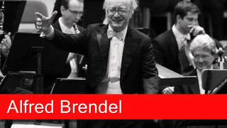 Alfred Brendel: Mozart Concerto No 20 in D minor,