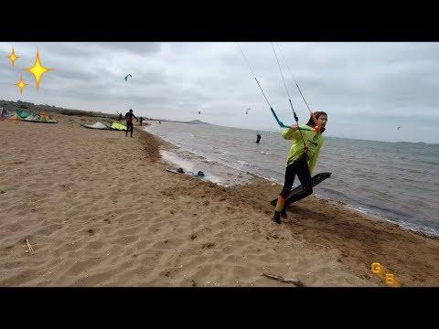 Kitesurfing speed ,