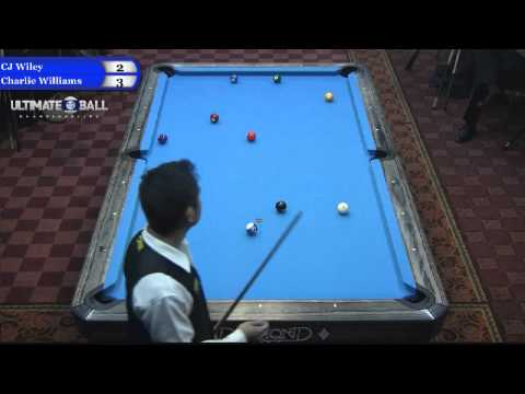 CJ Wiley vs Charlie Williams at the Ultimate 10-Ball Champio