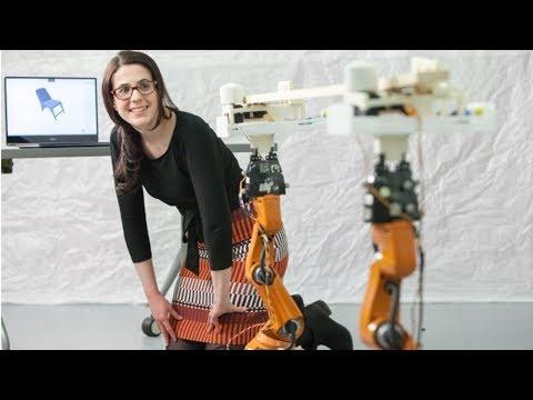 AutoSaw: Robot carpenter hace muebles personalizados