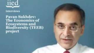 Pavan Sukhdev. Practical examples of the Green Economy from the developing world