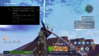 LIVE PS4 FORTNITE (FR) Save the world come exchange