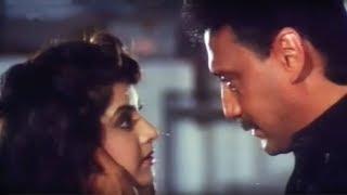 Jackie Shroff, Kadar Khan, Divya Bharti, Dil Hi To Hai - Scene 15/19