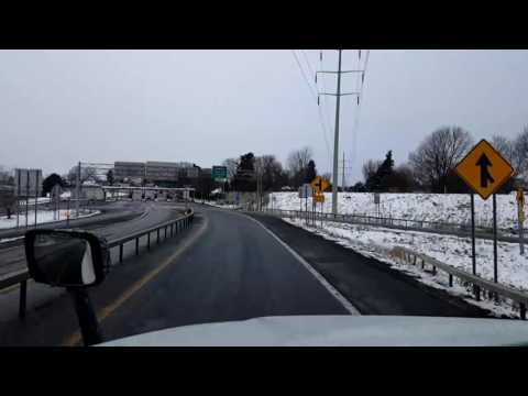 Bigrigtravels Live! - Liverpool to Buffalo, New York - Interstate 90 - December 11, 2016
