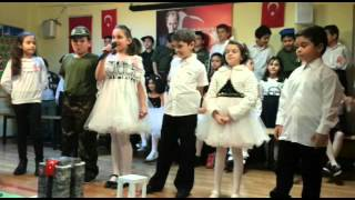 Eledim eledim 18 mart anma programı Mithatpaşa ilkokulu 3_F sınıfı ISTANBUL 2016