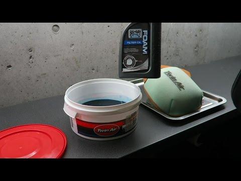 Dirt Bike Air Filter Maintenace