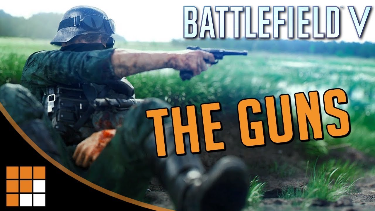 All The Guns from the Battlefield V Reveal + Some You Didn't See!
