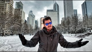SNOW DAY IN CHICAGO - 2/9/2018 (Winter Storm)
