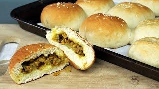 Vegan Curry Beef Bun Recipe | Mary's Test Kitchen