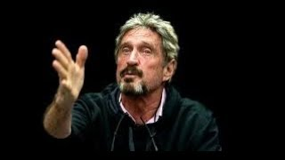 """John McAfee - New """"McAfee Coin"""", Disses Bill Gates, ICO's & BitCoin CryptoCurrency For Beginners"""