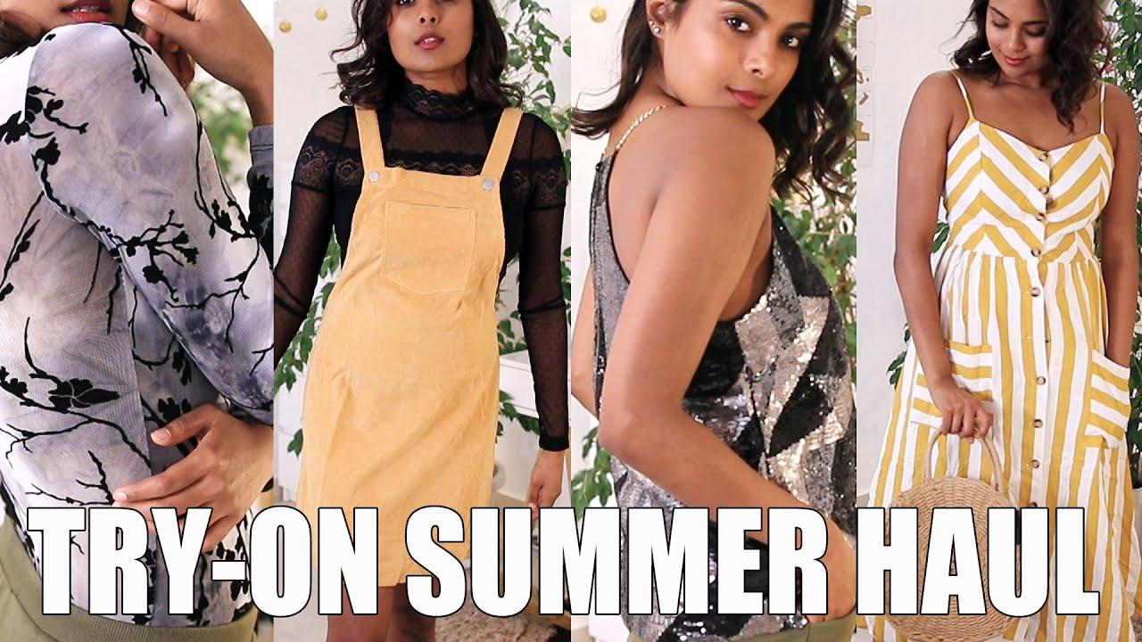 30b907174df4 AFFORDABLE SUMMER FASHION - SHEIN TRY ON HAUL - YouTube