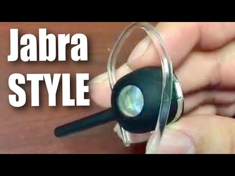 Jabra Style Wireless Bluetooth Headset Review Youtube