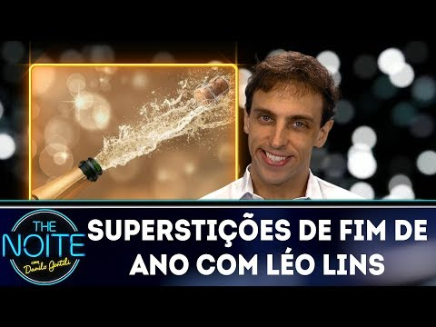 Superstições de fim de ano com Léo Lins  | The Noite (29/12/17)