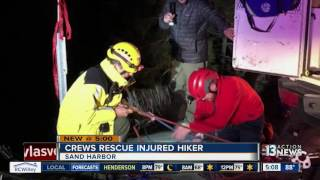 Hiker rescued at Lake Tahoe after getting lost