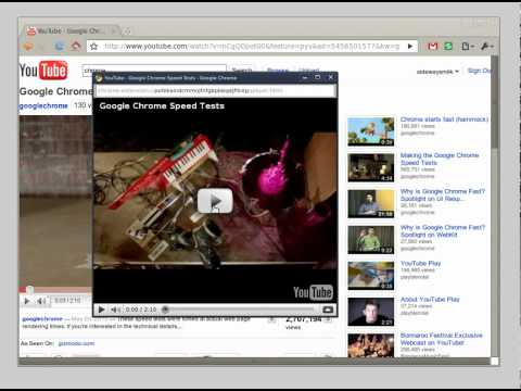 Popout for YouTube™: A Google Chrome™ Extension