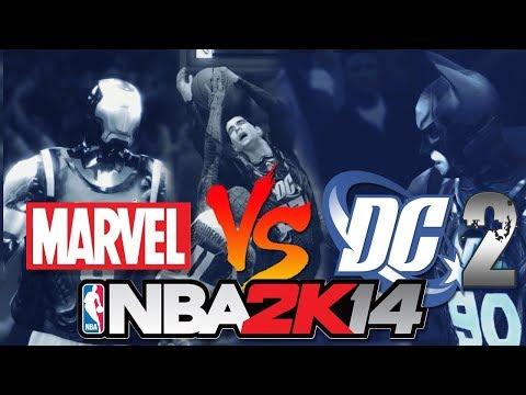 NBA 2K14 : THE AVENGERS vs JUSTICE LEAGUE [FULL GAME]