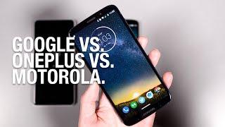 Android Gesture Navigation Battle: Google vs. OnePlus vs. Motorola