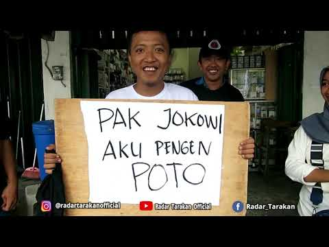 [Full] Ribuan Masyarakat Menyambut Kedatangan Pak Joko Widodo! Ada Yang Foto Hingga Rebutan Baju