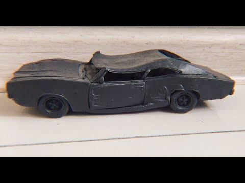 Краш тест Dodge Charger из ПЛАСТИЛИНА, УНИЧТОЖАЕМ ЕГО