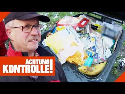 Alltag für Hartmut: Verbotene Müllentsorgung auf der Autobahn!   Achtung Kontrolle   kabel eins