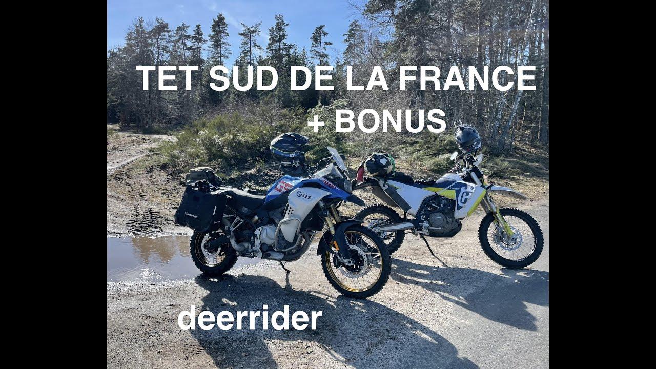 Download TET France avec une Husqvarna 701 LR et un Trail F850GSA, road-trip off-road