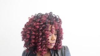 Big Red Crotchet Wig- ChimereNicole