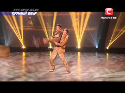 Танцуют все 6 сезон - Олег, Никита  и Егор   Второй прямой эфир 06.12.2013