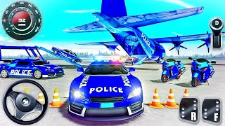 Us Police Car Transporter Truck - Cop Limousine Driver Simulator - Android GamePlay screenshot 4
