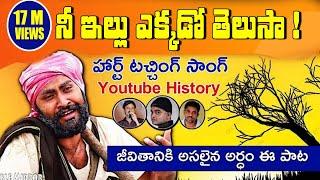 Nee illu Ekkado Telusa folk Song | Saketh Sairam | Ravi Varma | Rajiv Erram | Double Mirror