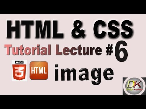 How to insert an image in HTML | HTML and CSS Tutorial | Design Knowledge thumbnail