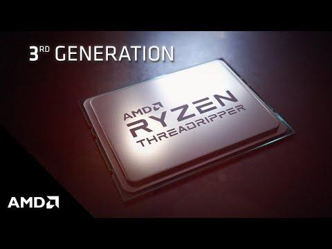 Performance Preview: 3rd Gen AMD Ryzen™ Threadripper™ Processors for Creators