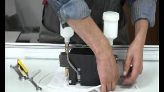 Cборка помпы для витражного станка по технологии Voline