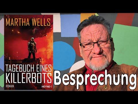 Tagebuch eines Killerbots YouTube Hörbuch Trailer auf Deutsch