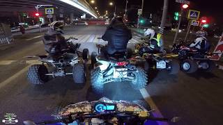 Yamaha Banshee Crash / Stunt Yamaha raptor 700 / TRX 700 / YFZ600RS