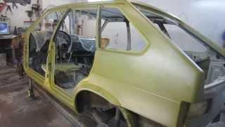 Как подготовить авто к покраске!
